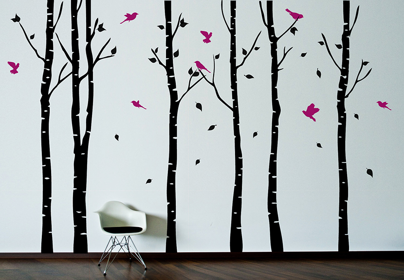 Dise o y rotulaci n en vinil multigraphics for Pegatinas de pared ikea